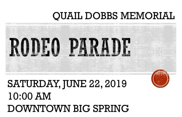 RODEO PARADE 2019
